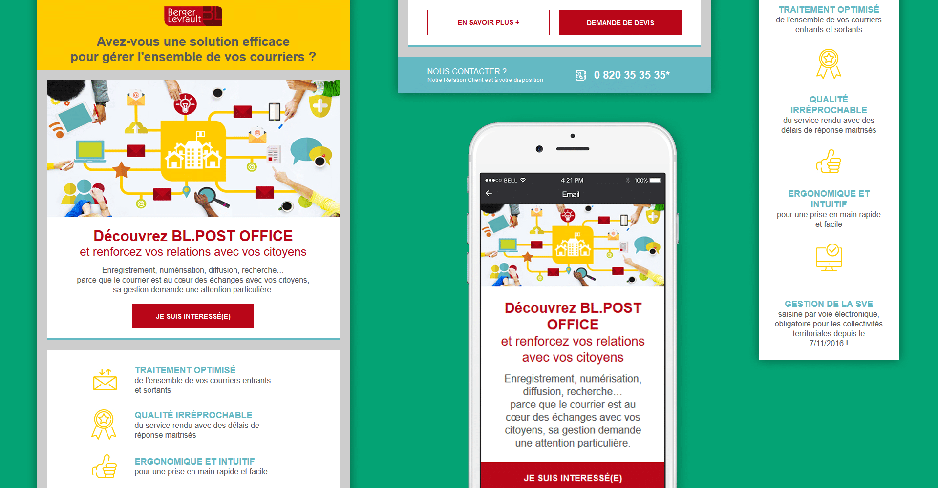 Kit UI design email responsive