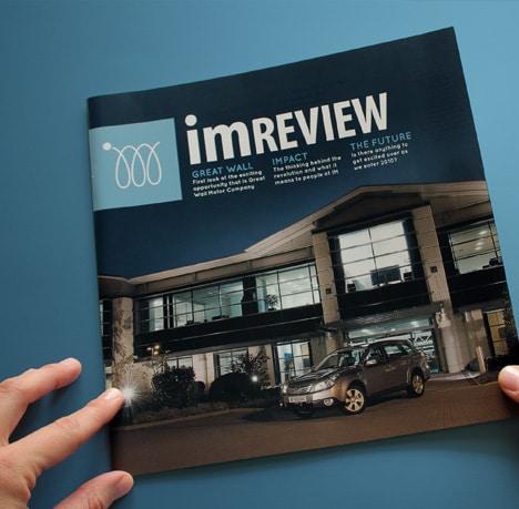 Design d'édition charte graphique magazine