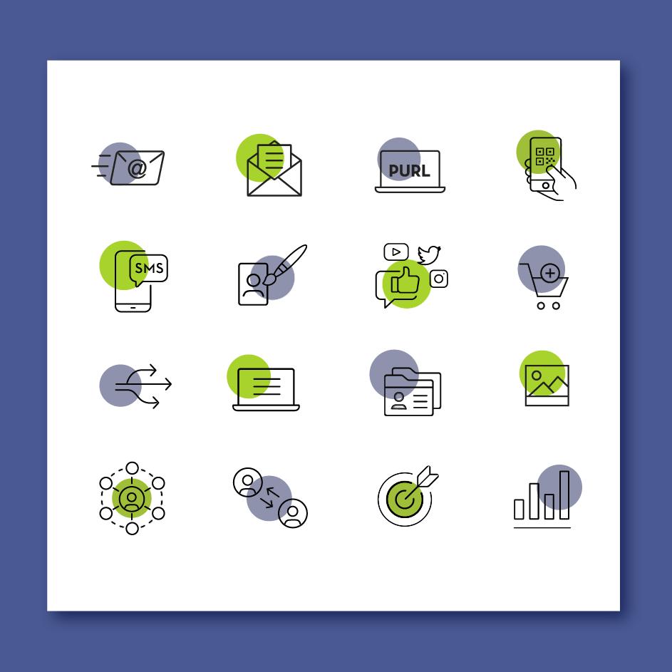 UI design - icones