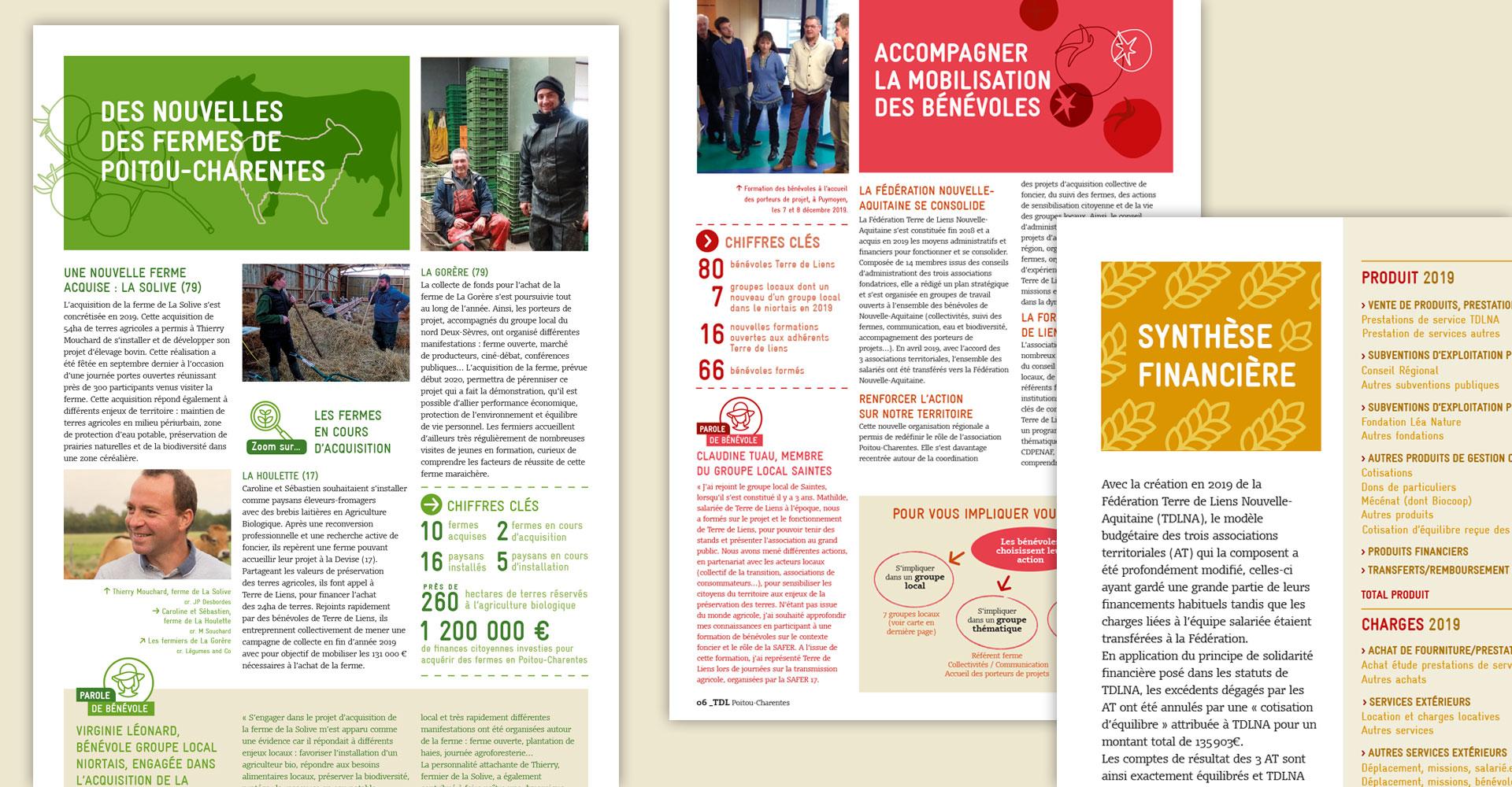 création charte graphique - écologie, agriculture responsable