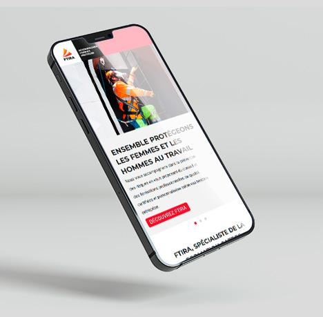 Design UX - UI Refonte de site web pour FTIRA